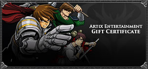Artix Entertainment Gift Certificate